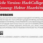 Quellenangabe – Ursprüngliche Version http://www.hackcollege.com/ | Deutsche Fassung: Hektor Haarkötter (MHMK)